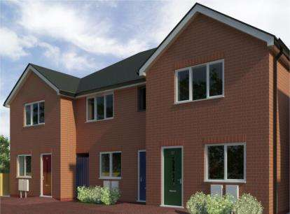 2 Bedrooms Town House for sale in Lower Ash Road, Kidsgrove, Stoke-On-Trent