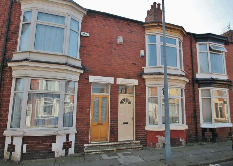 2 Bedrooms Terraced House for sale in Clive Road, Linthorpe
