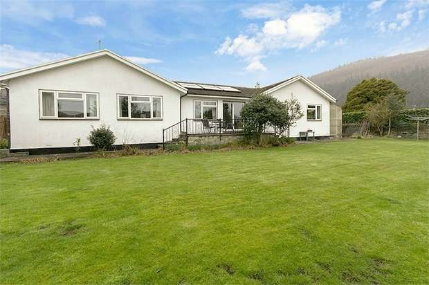4 Bedrooms Detached Bungalow for sale in Crabtree Walk, Knighton, Powys