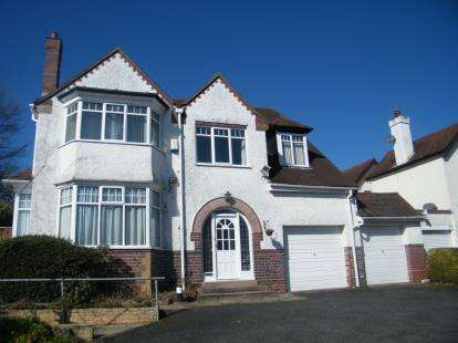 5 Bedrooms Detached House for sale in Grange Hill Road, Birmingham, West Midlands