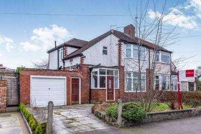 3 Bedrooms Semi Detached House for sale in Princess Avenue, Cheadle Hulme, Stockport, Greater Manchester
