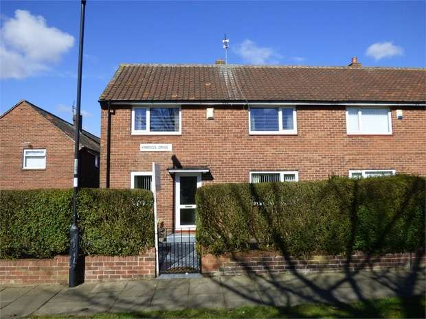 3 Bedrooms Semi Detached House for sale in Kinross Drive, Newcastle upon Tyne, Tyne and Wear
