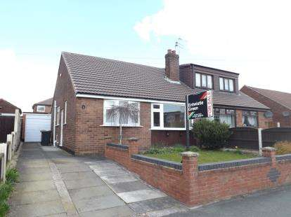 2 Bedrooms Bungalow for sale in Manx Road, Warrington, Cheshire, WA4