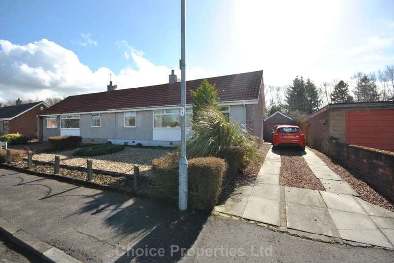 3 Bedrooms Semi Detached Bungalow for sale in Walnut Road, Kilmarnock, KA1 2HF