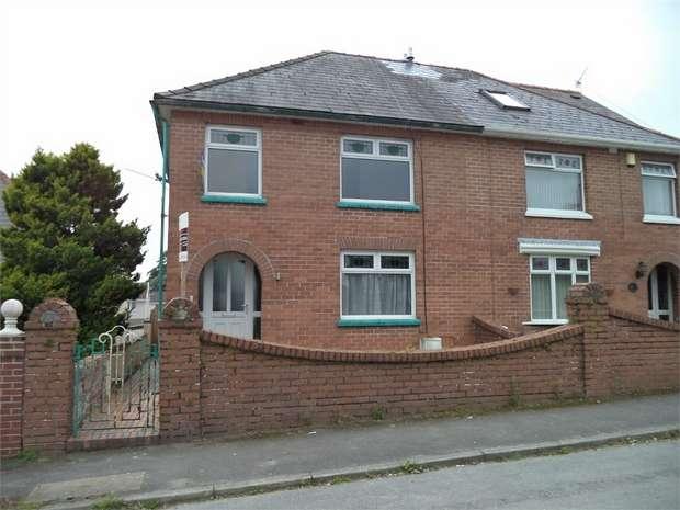 3 Bedrooms Semi Detached House for sale in King Edward Road, Brynmawr, Ebbw Vale, Blaenau Gwent