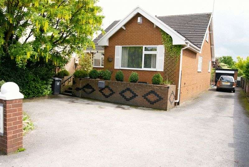 4 Bedrooms Detached Bungalow for sale in Heol Maelor, Coedpoeth, Wrexham