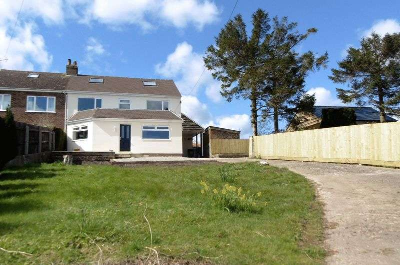5 Bedrooms Semi Detached House for sale in CINDERFORD, GLOUCESTERSHIRE