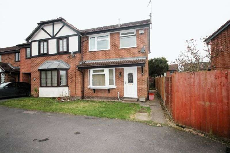3 Bedrooms Semi Detached House for sale in Ashford Road, Whitwick