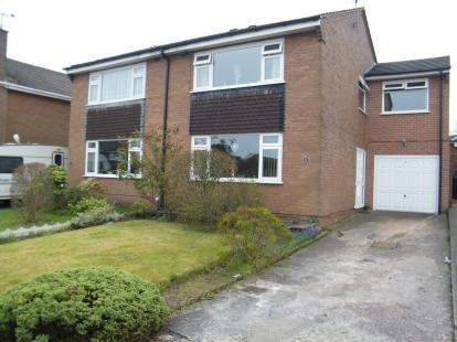 3 Bedrooms Semi Detached House for sale in Haweswater Drive, Winsford, Cheshire, CW7