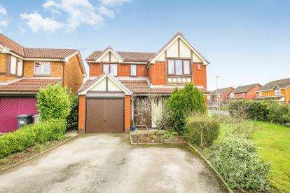 4 Bedrooms Detached House for sale in Coverdale Fold, Ettiley Heath, Sandbach, Cheshire