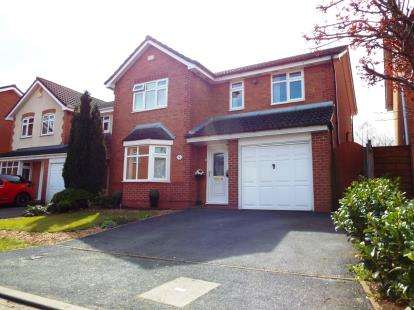 4 Bedrooms Detached House for sale in Brathay Close, Warrington, Cheshire
