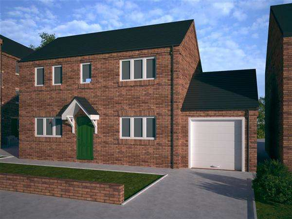 3 Bedrooms Detached House for sale in 'The Findon', Birch Lane, Pelsall