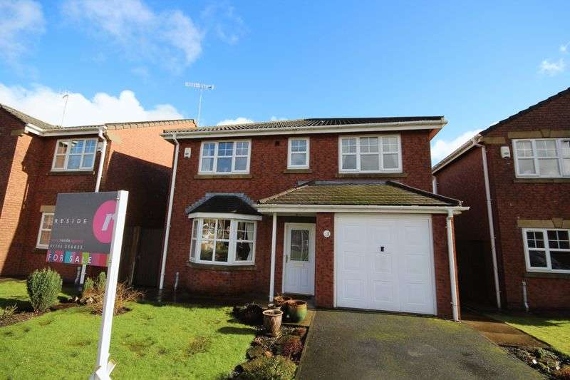 4 Bedrooms Detached House for sale in THE STABLES, Whitworth, Rochdale OL12 8BL