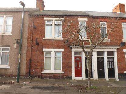 2 Bedrooms Flat for sale in Brabourne Street, South Shields, Tyne and Wear, NE34