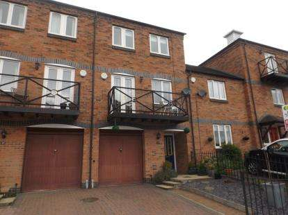 4 Bedrooms Terraced House for sale in Round Hill Wharf, Kidderminster, Worcestershire