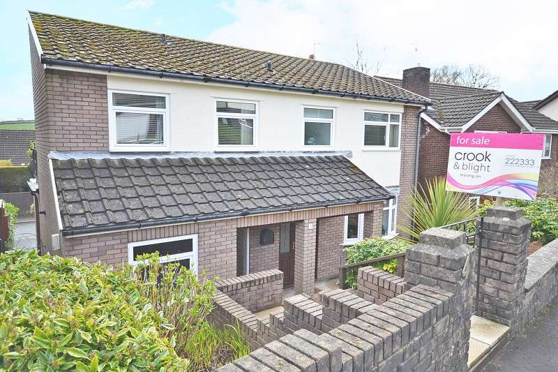 4 Bedrooms Detached House for sale in Pen-y-groes Grove, Pentrepoeth Road, Bassaleg, Newport, Gwent. NP10 8JD