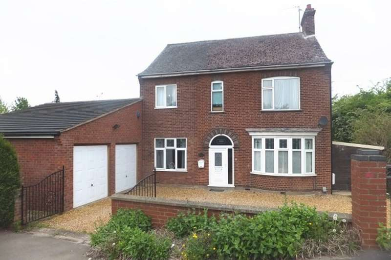 4 Bedrooms Detached House for sale in Lincoln Road, Werrington, Peterborough, PE4
