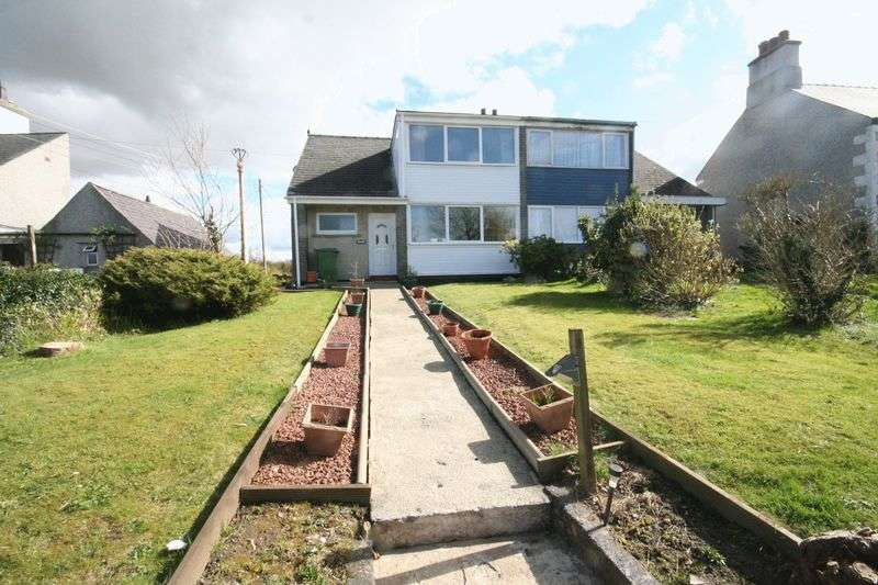 3 Bedrooms Semi Detached House for sale in Benllech, Anglesey