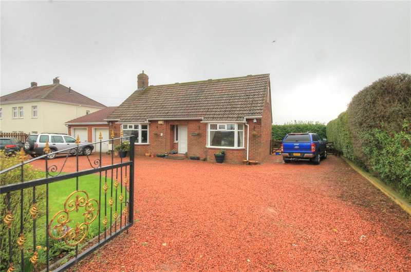 3 Bedrooms Detached Bungalow for sale in Hill Top, East Stanley, County Durham, DH9