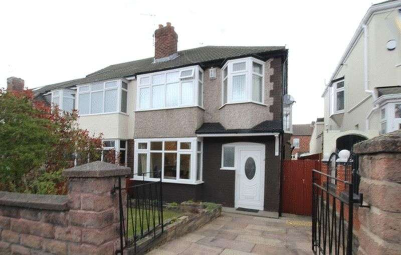 4 Bedrooms Semi Detached House for sale in Ashlar Road, Aigburth, Liverpool, L17