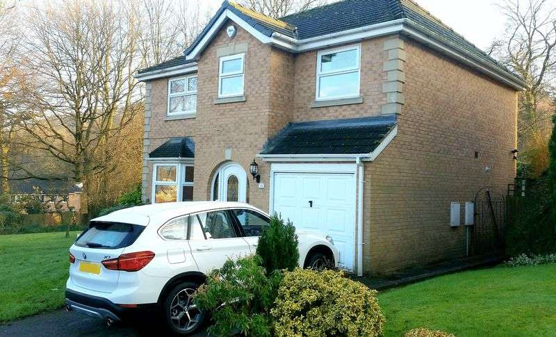 4 Bedrooms Detached House for sale in Harwood Close, Huddersfield