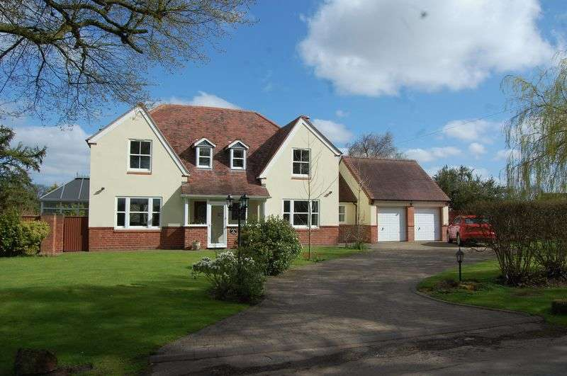 4 Bedrooms Detached House for sale in High House Lane, Albrighton