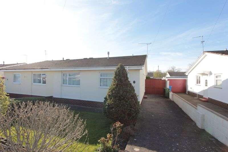 2 Bedrooms Semi Detached Bungalow for sale in Pen Tywyn, Prestatyn