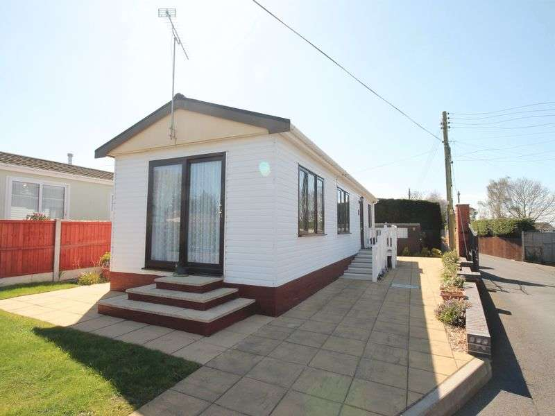 2 Bedrooms Detached Bungalow for sale in Springfield Park, Market Drayton