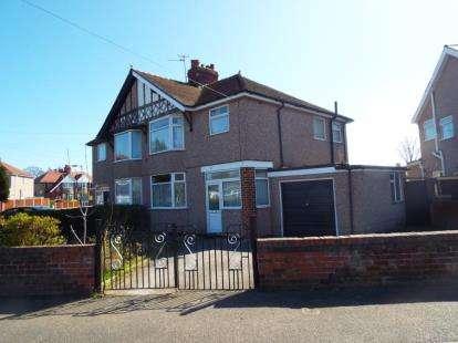 3 Bedrooms Semi Detached House for sale in Merllyn Road, Rhyl, Denbighshire, LL18