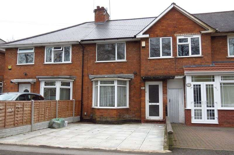 3 Bedrooms Terraced House for sale in Olton Boulevard West, Tyseley, Birmingham B11 3JD