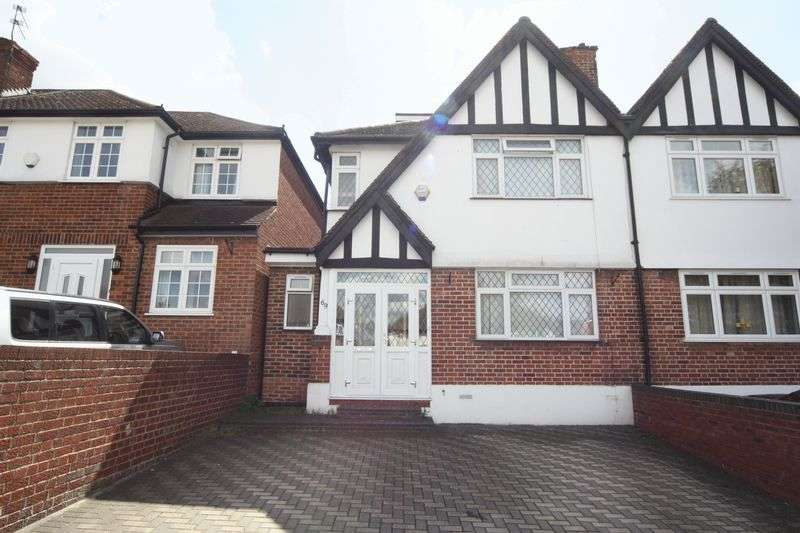 4 Bedrooms Semi Detached House for sale in Ferrymead Gardens, Greenford