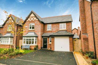 4 Bedrooms Detached House for sale in Granary Close, Milton Green, Chester, Cheshire, CH3