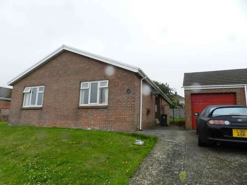 3 Bedrooms Detached Bungalow for sale in Shakespeare Close, Priory Park, Haverfordwest