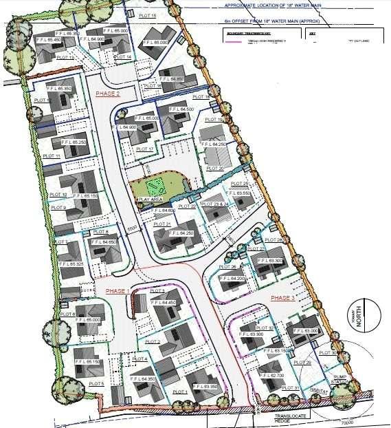 3 Bedrooms Detached Bungalow for sale in Plot 6, Bowett Close, Hundleton, Pembroke