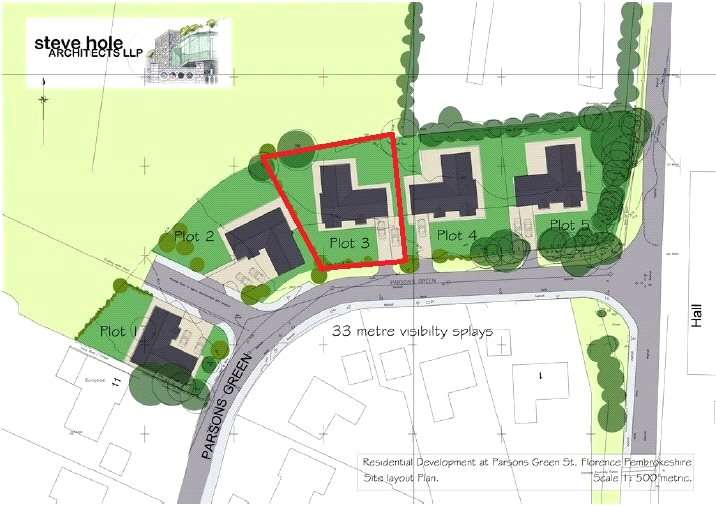Land Commercial for sale in Plot 3, South Of Plough Penny Field, Parsons Green, St. Florence
