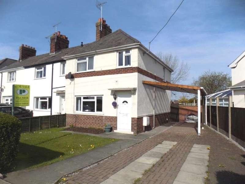 3 Bedrooms Semi Detached House for sale in Belmont Crescent, Buckley, Flintshire. CH7 3NE