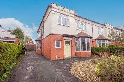 4 Bedrooms Semi Detached House for sale in Mulgrave Avenue, Ashton-on-Ribble, Preston, Lancashire, PR2