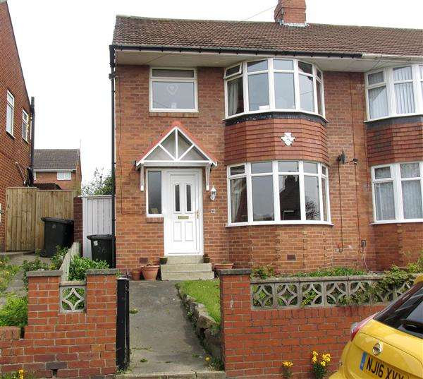 3 Bedrooms Semi Detached House for sale in Centurion Road, Newcastle upon Tyne