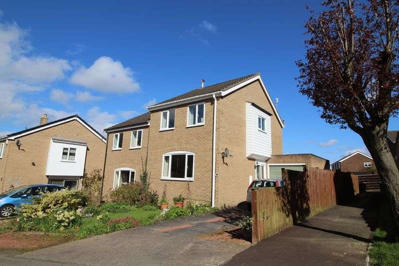 3 Bedrooms Semi Detached House for sale in Dotland Close, Eastwood Grange, Hexham