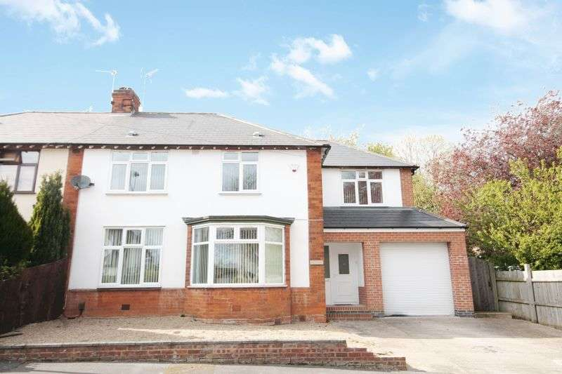 4 Bedrooms Semi Detached House for sale in BEECH WALK, LITTLEOVER