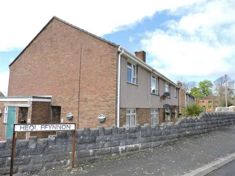 2 Bedrooms Flat for sale in Heol Ffynnon, Loughor