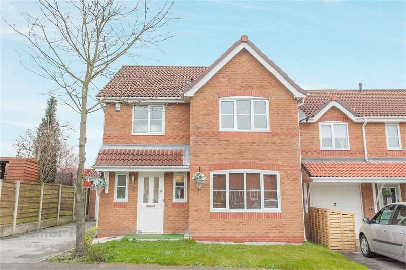 3 Bedrooms Detached House for sale in Levengreave Close, Hindley Green, Wigan, Lancashire