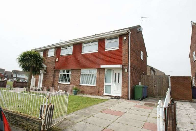 3 Bedrooms Semi Detached House for sale in Harrogate Drive, Liverpool