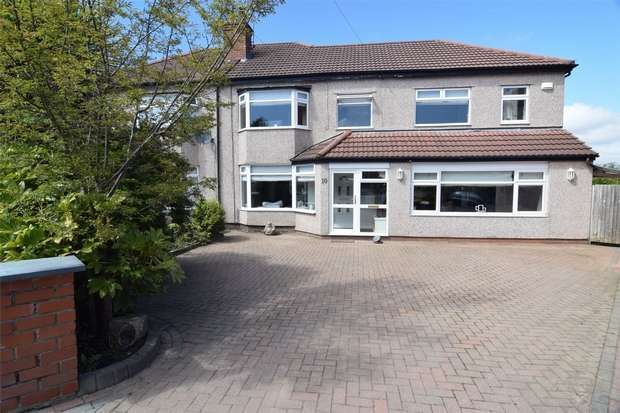 5 Bedrooms Semi Detached House for sale in Lyndhurst Avenue, Pensby, Wirral, Merseyside