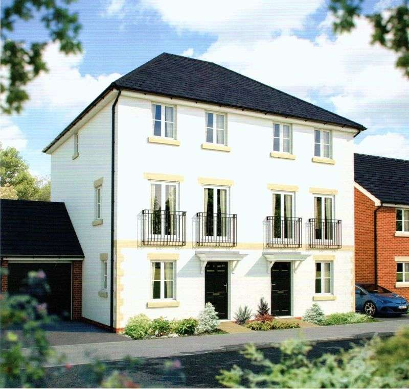 4 Bedrooms Terraced House for sale in A Brand New Phase at Centurion View, Coopers Edge, Gloucester GL3 4SH