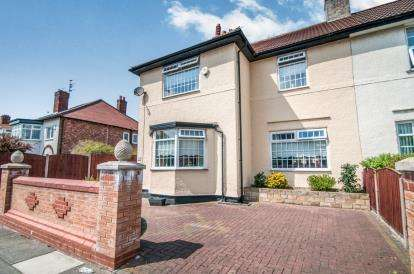 4 Bedrooms Semi Detached House for sale in Myers Road West, Liverpool, Merseyside, Crosby, L23