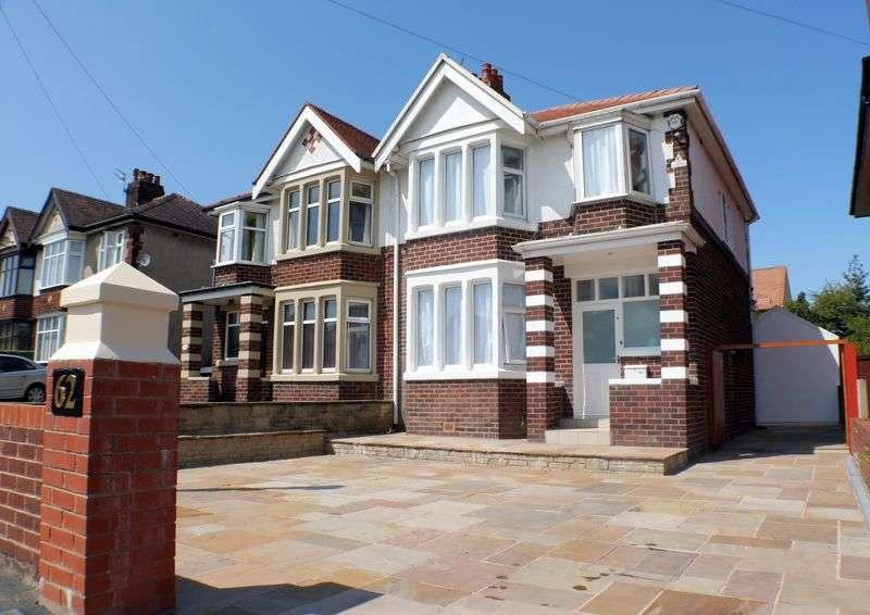 3 Bedrooms Semi Detached House for sale in 62 Garstang Road East, Poulton-Le-Fylde Lancs FY6 7EH