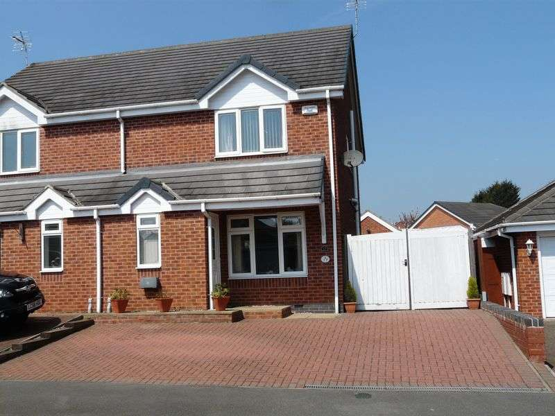 3 Bedrooms Semi Detached House for sale in St. Davids Close, Nottingham