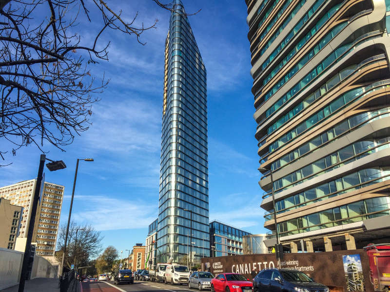 1 Bedroom Flat for sale in Canaletto, City Road, Old Street