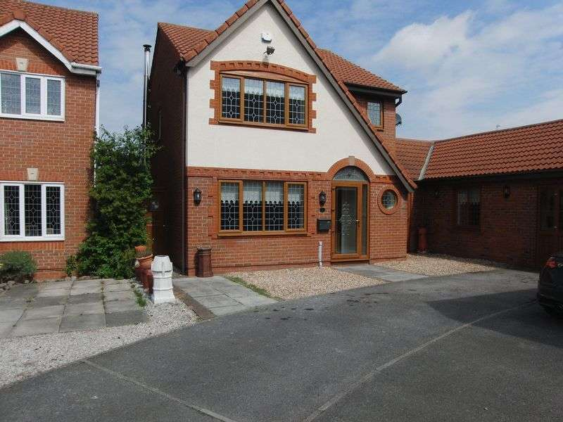 4 Bedrooms Detached House for sale in Swinderby Drive, Liverpool